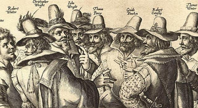 historia Pytanie-Ciekawostka: Jakim imieniem posługiwał się Guy Fawkes gdy aresztowano go w Parlamencie 4 listopada 1605 roku?