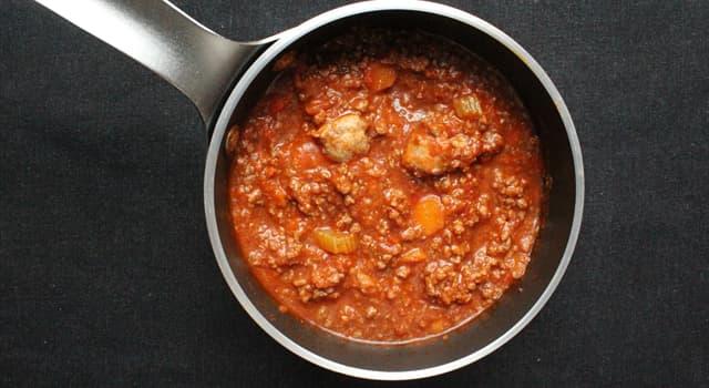 Культура Запитання-цікавинка: Який соус є м'ясним?