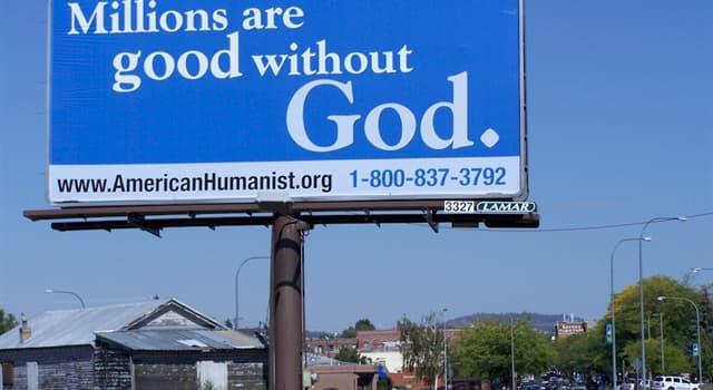 """społeczeństwo Pytanie-Ciekawostka: Kto napisał """"Good Without God: What a Billion Nonreligious People Do Believe""""?"""