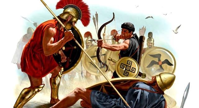 """historia Pytanie-Ciekawostka: Który Grek napisał """"Historia wojny peloponeskiej""""?"""