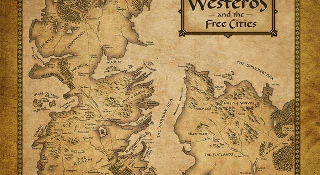 """Filmy Pytanie-Ciekawostka: Który serial telewizyjny rozgrywa się na fikcyjnym kontynencie """"Westeros""""?"""