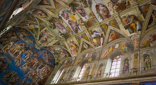Kultura Pytanie-Ciekawostka: Który słynny artysta pomalował sufit Kaplicy Sykstyńskiej?
