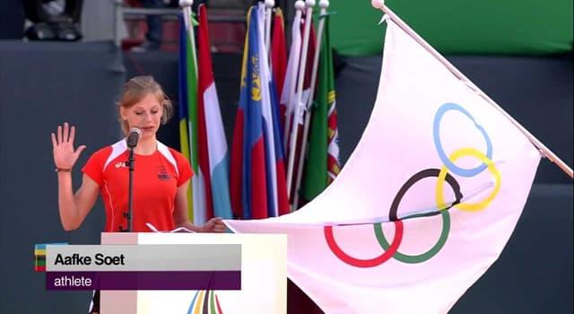 sport Pytanie-Ciekawostka: Podczas których Letnich Igrzysk Olimpijskich złożono pierwsze ślubowanie olimpijskie?