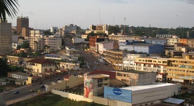 Geografia Pytanie-Ciekawostka: Stolicą którego kraju w Afryce jest Jaunde?