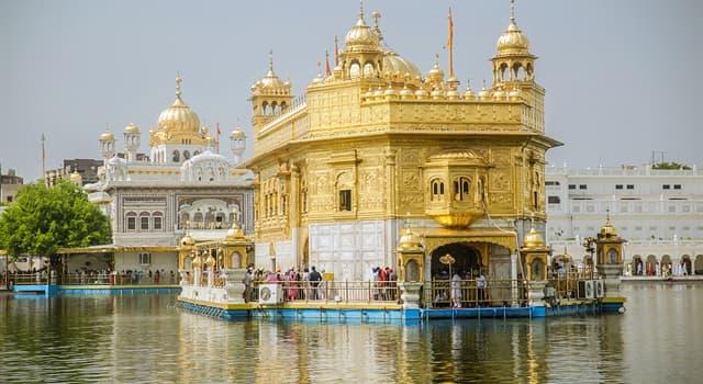Kultur Wissensfrage: Unter welchem Namen ist das Gebäude Harmandir Sahib besser bekannt?