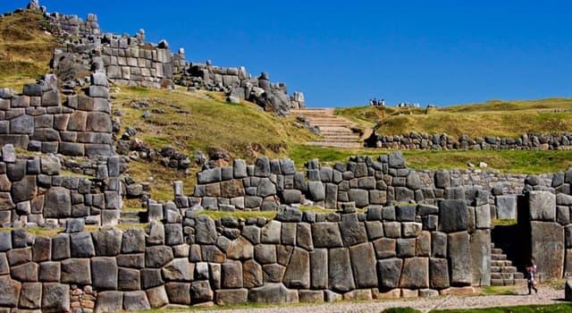 Географія Запитання-цікавинка: В якій країні розташована цитадель і храмовий комплекс Саксайуаман?