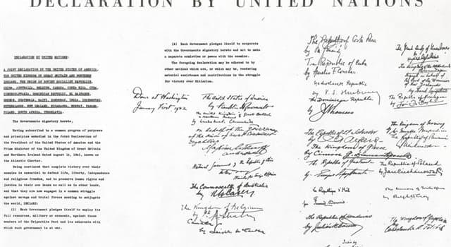 historia Pytanie-Ciekawostka: W jakim mieście w 1945 roku została podpisana Karta Narodów Zjednoczonych?