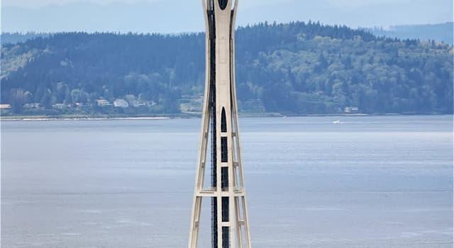 Geografia Pytanie-Ciekawostka: W którym mieście USA jest przełomowa wieża znana jako Space Needle?