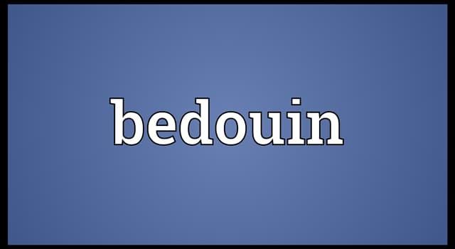 Kultur Wissensfrage: Wer sind Beduinen?