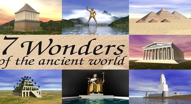 Kultur Wissensfrage: Welche von diesen Weltwundern der Antike existieren heute?