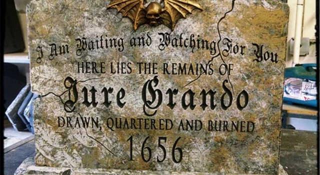 społeczeństwo Pytanie-Ciekawostka: Z czego znany jest Jure Grando?