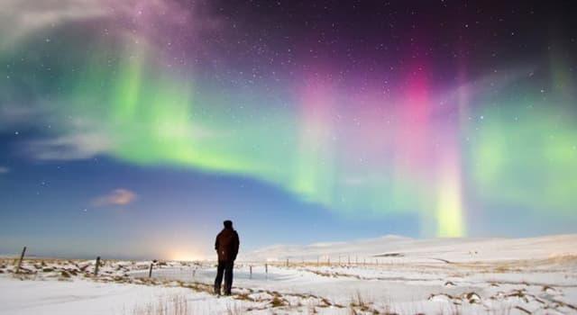Wissenschaft Wissensfrage: Wie heißt wissenschaftlich das Nordlicht?