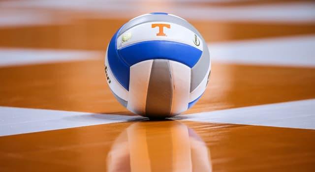 Sport Wissensfrage: Wie viele Spieler hat eine Volleyball-Mannschaft?