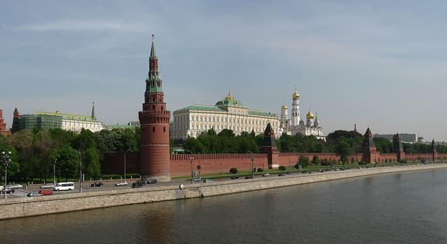 Geographie Wissensfrage: Wo befindet sich der Kreml?