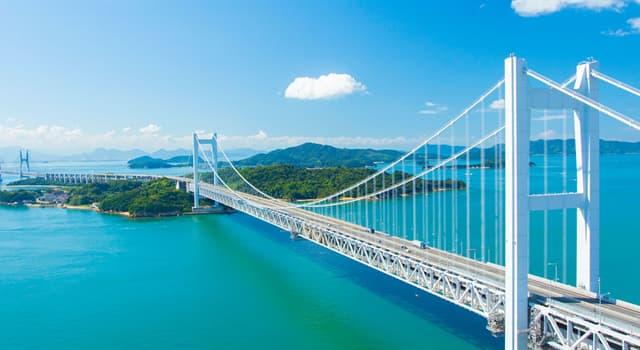 Geographie Wissensfrage: Wo befindet sich die Akashi-Kaikyō-Brücke?