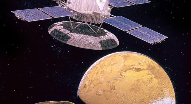 Wissenschaft Wissensfrage: Wo landeten zwei Raumsonden Viking 1 und 2?