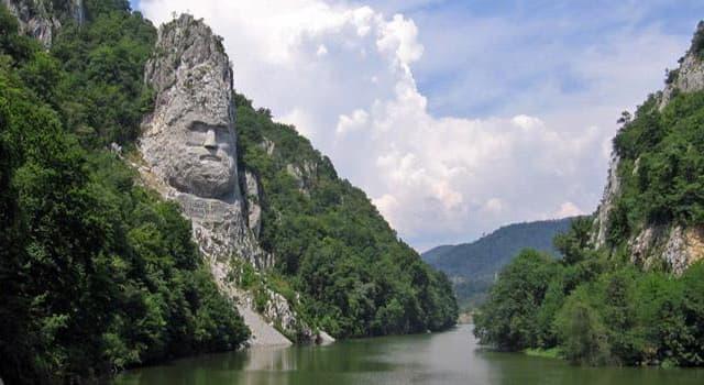 """Geographie Wissensfrage: An welchem Fluss liegt dieser Ort namens """"Eisernes Tor""""?"""