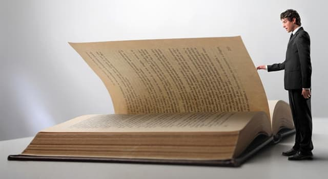 Culture Trivia Question: As of 2019, which novel contains the world's longest sentence in English?