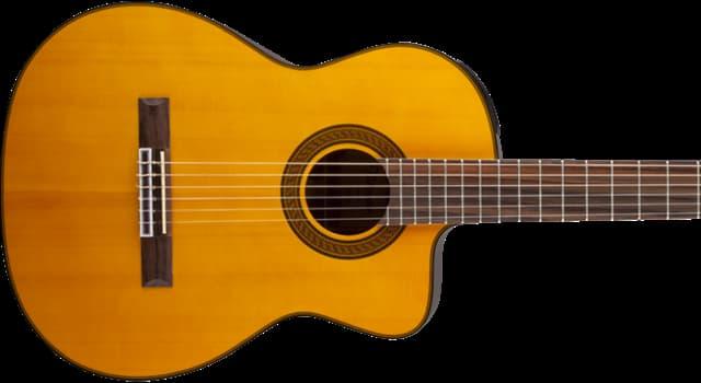 Geschichte Wissensfrage: Aus welchem Land stammt die Vorform der heutigen Gitarre?