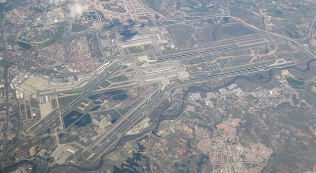 Geography Trivia Question: Barajas Airport serves which city?