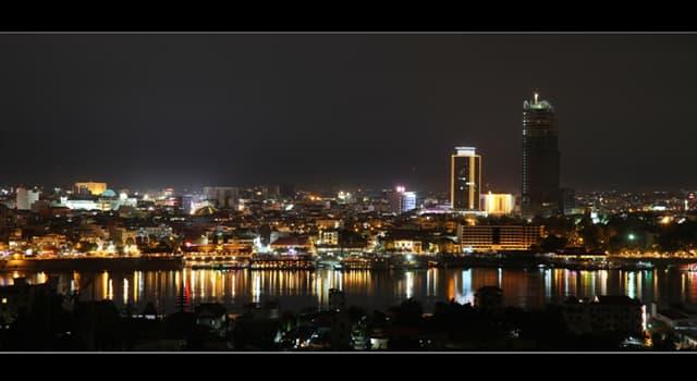 Geografia Pytanie-Ciekawostka: Co jest stolicą Kambodży?