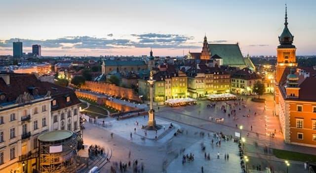 Geografia Pytanie-Ciekawostka: Co jest stolicą Polski?
