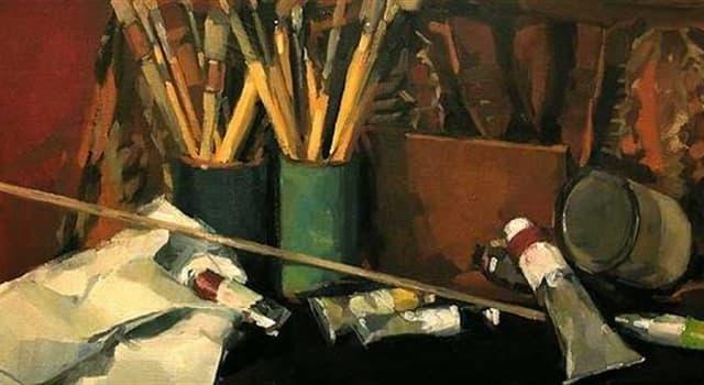 """Kultura Pytanie-Ciekawostka: Co trzyma w ręce mężczyzna na obrazie """"American Gothic"""" autorstwa Granta Wooda?"""