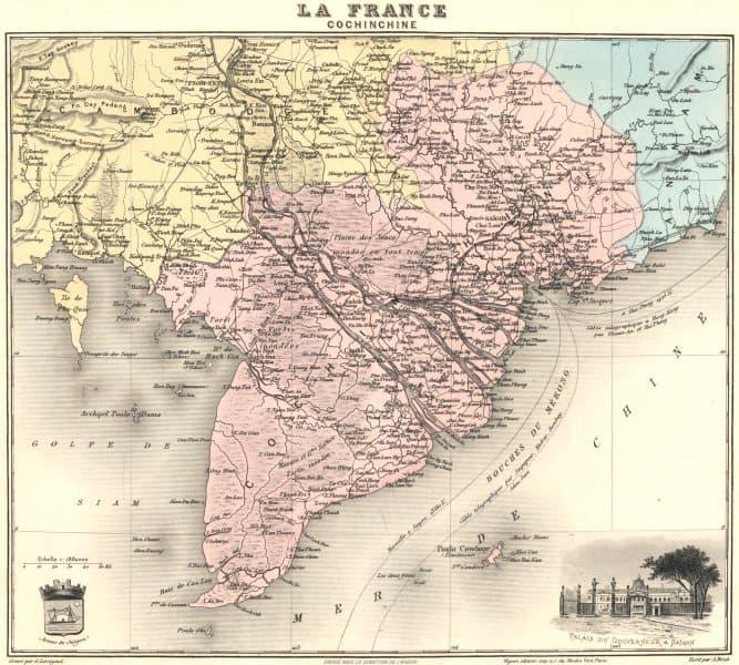 Geografía Pregunta Trivia: ¿Dónde está la Cochinchina?