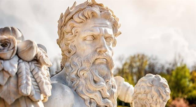 Kultura Pytanie-Ciekawostka: Gdzie według greckiej mitologii narodził się Zeus?
