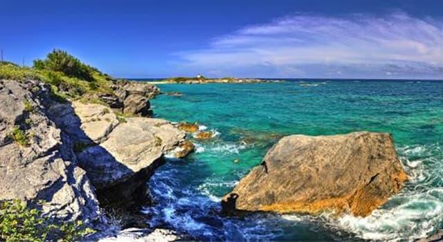 Geografia Pytanie-Ciekawostka: Gdzie znajdują się wyspy Bermudy?