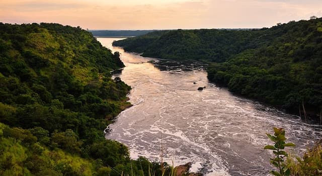 Geography Trivia Question: How many countries does the Nile River flow through?