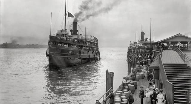 History Trivia Question: In 1915, 844 passengers and crew perished on which passenger ship in the Great Lakes, in the US?