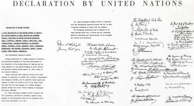 Geschichte Wissensfrage: In welcher Stadt wurde 1945 die Charta der Vereinten Nationen unterzeichnet?
