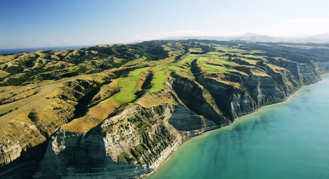 Geography Trivia Question: In which country is Cape Kidnappers?