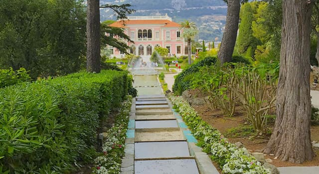 """Geography Trivia Question: In which French town would you find the """"Villa Ephrussi de Rothschild""""?"""