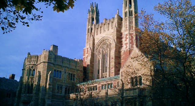 Society Trivia Question: In which U.S. state is Yale University located?