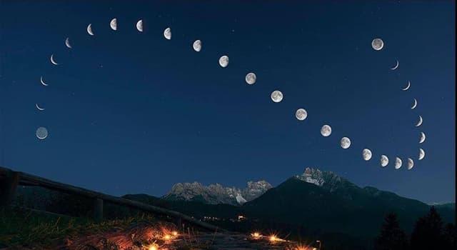 nauka Pytanie-Ciekawostka: Jak brzmi dominujące wytłumaczenie powstania Księżyca?