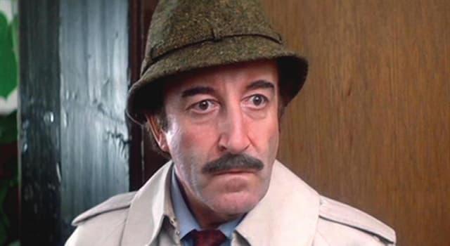 """Filmy Pytanie-Ciekawostka: Jak miał na imię inspektor Clouseau z cyklu filmów """"Różowa Pantera""""?"""