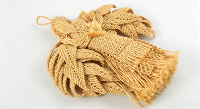 Культура Запитання-цікавинка: Як називається техніка вузликового плетіння?