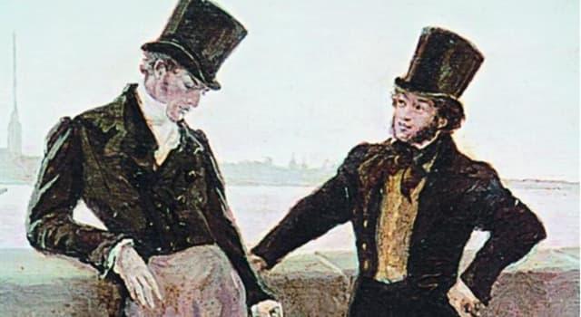 Культура Запитання-цікавинка: Як називався тип капелюхи, яку любив носити А.С. Пушкін, а заодно і Євгеній Онєгін?