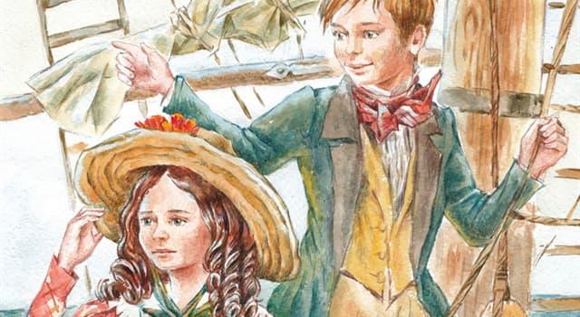 Культура Запитання-цікавинка: Як звали дітей капітана Гранта з роману Жюля Верна «Діти капітана Гранта»?