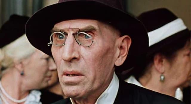 Фільми та серіали Запитання-цікавинка: Який радянський актор зображений на фото?