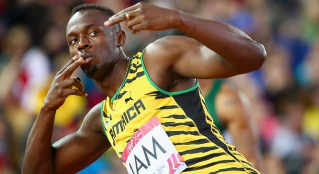 sport Pytanie-Ciekawostka: Kto był drugim w finałach biegu na 100 m i 200 m na igrzyskach olimpijskich 2012?