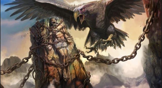 Культура Запитання-цікавинка: Хто вбив стрілою орла, клювати печінку Прометея?