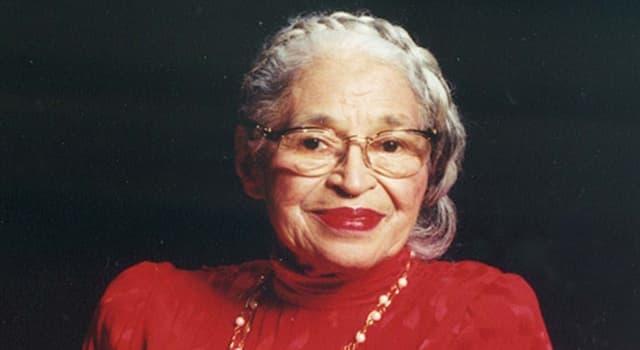 społeczeństwo Pytanie-Ciekawostka: Kto w 1999 roku został pozwany przez Rosę Parks za użycie jej imienia w tytule piosenki?