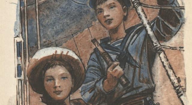 Культура Запитання-цікавинка: Хто є автором роману «Діти капітана Гранта»?