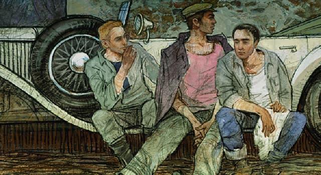 Культура Запитання-цікавинка: Хто є автором роману «Три товариші»?