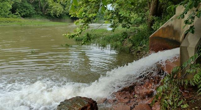 Geografia Pytanie-Ciekawostka: Która rzeka jest najdłuższą na świecie pod względem średniego przepływu?
