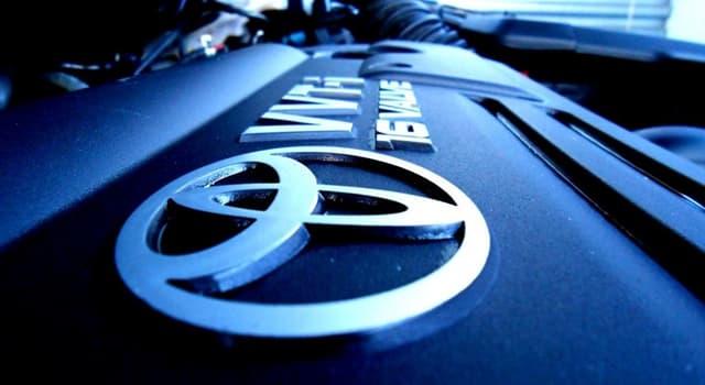 społeczeństwo Pytanie-Ciekawostka: Która z tych nazw jest nazwą samochodu marki Toyota?