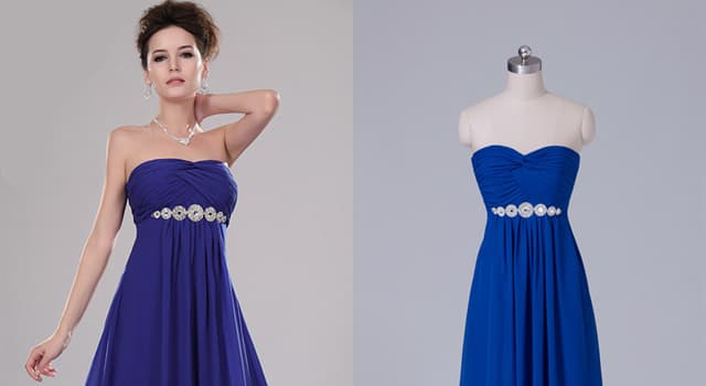 Kultur Wissensfrage: Mit welchem von diesen Begriffen bezeichnet man ein Kleid mit erhöhter Taille?